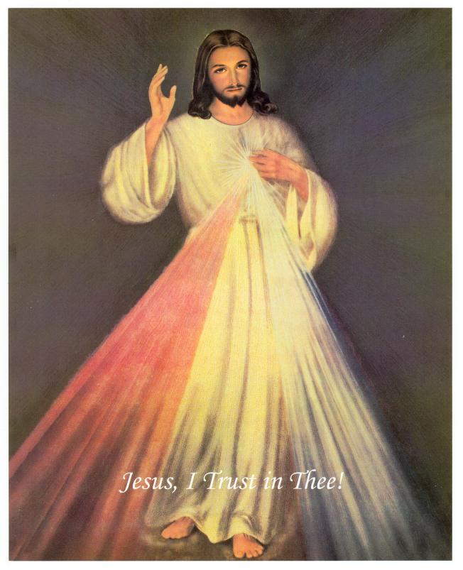 Litany to Divine Mercy